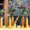 Házilag készített tavaszi díszek