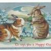 Húsvéti képeslap házilag